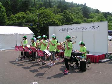 北海道森林スポーツフェスタin定山渓_f0078286_9184156.jpg