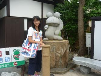 長野から帰ってきました。カエルの町レポなど(^^)/_e0188087_23354813.jpg