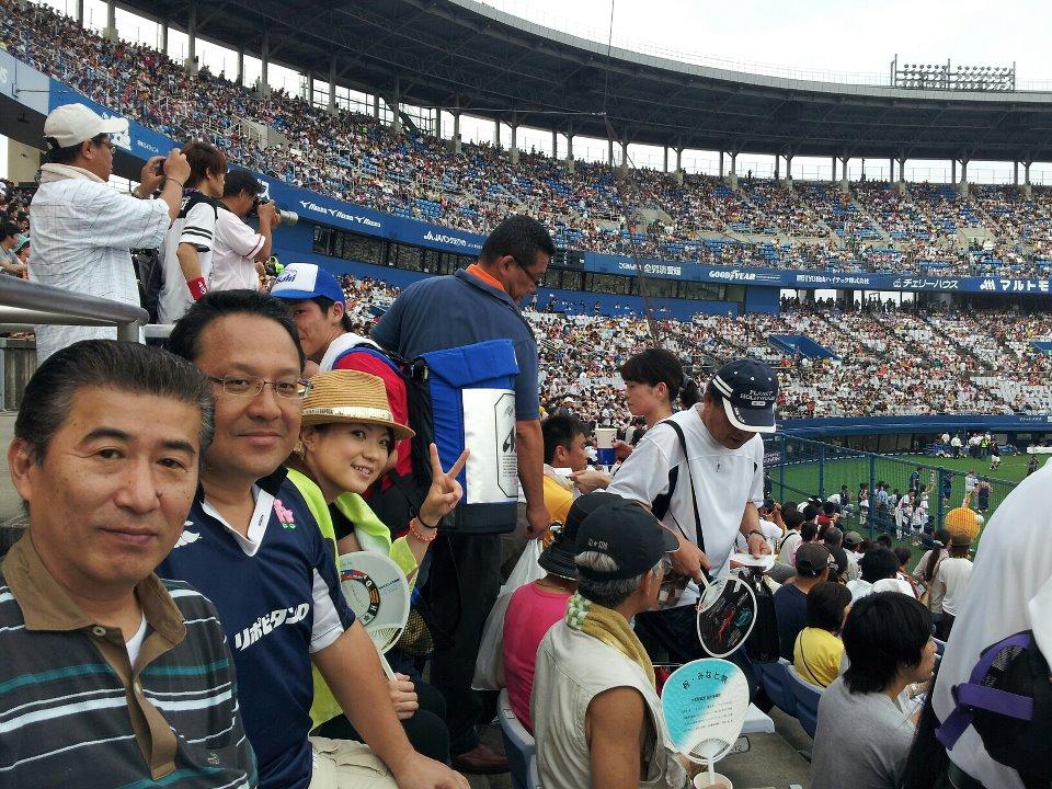 愛媛県松山市、「坊っちゃんスタジアム」でオールスター第2戦を観戦!_c0186691_16222636.jpg