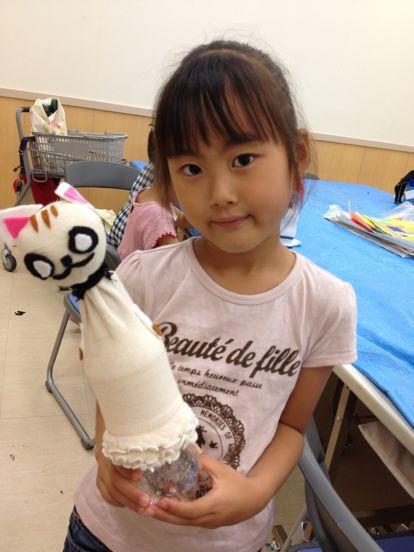 八尾教室 ペットボトル人形_f0215199_19515939.jpg