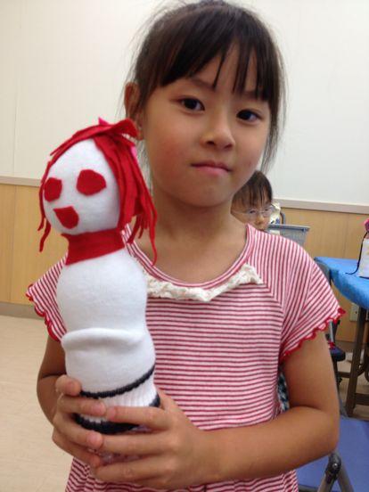 八尾教室 ペットボトル人形_f0215199_19515967.jpg