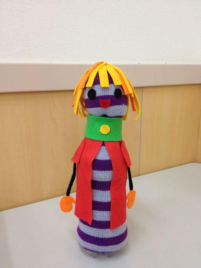 八尾教室 ペットボトル人形_f0215199_1952066.jpg