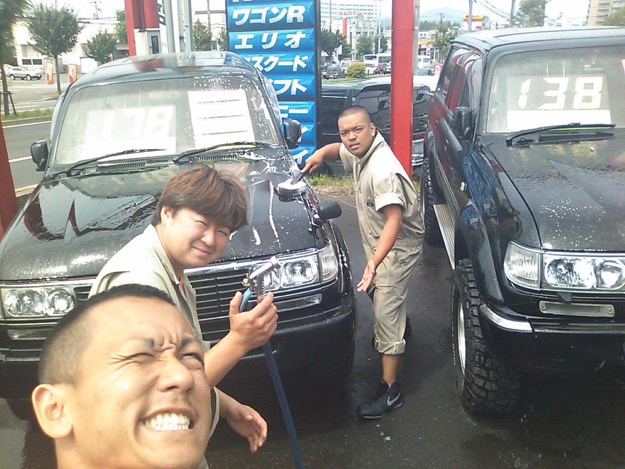 展示場 洗車(^^)_b0127002_10451746.jpg