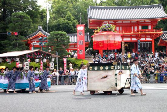 祇園祭り 花笠巡行_e0048413_21125537.jpg