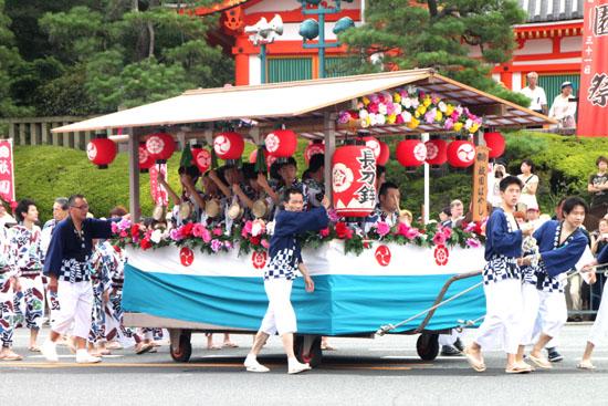 祇園祭り 花笠巡行_e0048413_21131985.jpg
