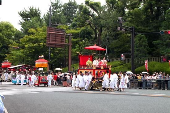 祇園祭り 花笠巡行_e0048413_21135290.jpg