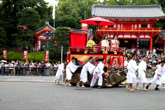 祇園祭り 花笠巡行_e0048413_2113627.jpg