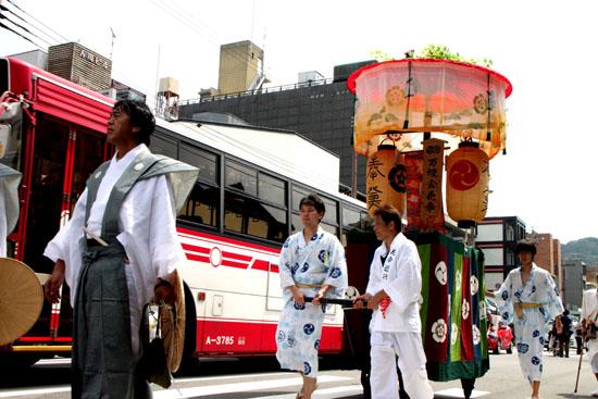 祇園祭り 花笠巡行_e0048413_2114866.jpg