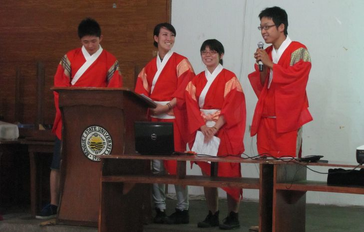 アボンで日系人の歴史、BSUで伝統芸能交流-土佐ひかりグループ_a0109542_1225289.jpg