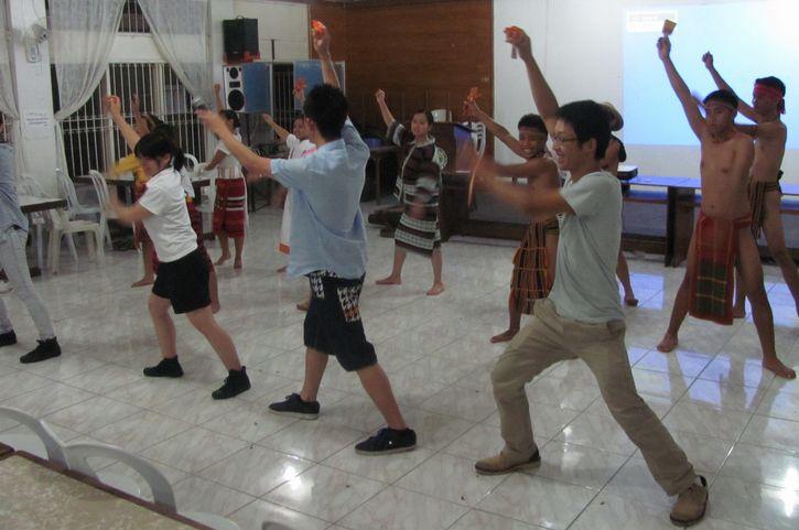 アボンで日系人の歴史、BSUで伝統芸能交流-土佐ひかりグループ_a0109542_1231944.jpg
