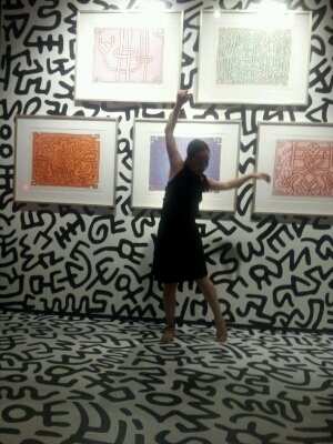 KEITH HARING A performance part 3終了!_e0277143_10261156.jpg