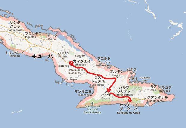 キューバ (55) サンティアゴ・デ・クーバに到着_c0011649_8263116.jpg