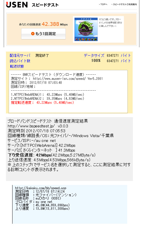 ◆プラチナバンドの前に、スピードテストを_b0008655_11581546.jpg