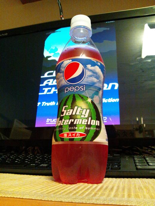 pepsi Salty Watermelon._e0033459_21244684.jpg