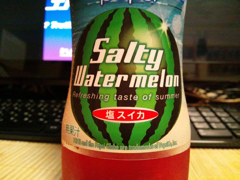 pepsi Salty Watermelon._e0033459_21262491.jpg