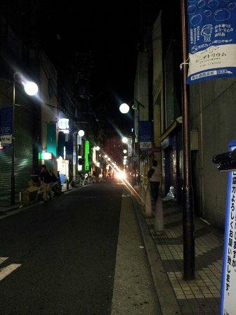 OSAKA MUSEまで真夜中の道案内_b0212864_1125716.jpg