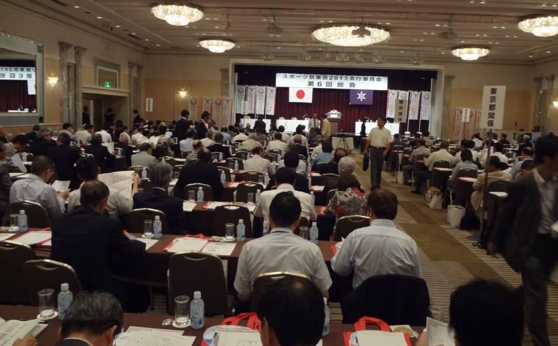 スポーツ祭東京2013実行委員会第6回総会_f0059673_0103522.jpg