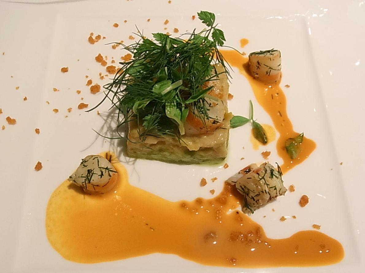 晩餐会でいただくQuintessence(カンテサンス)ディナー。_a0138976_2010225.jpg