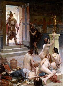 高盧對羅馬的影響-布倫努斯入侵羅馬_e0040579_22223514.jpg