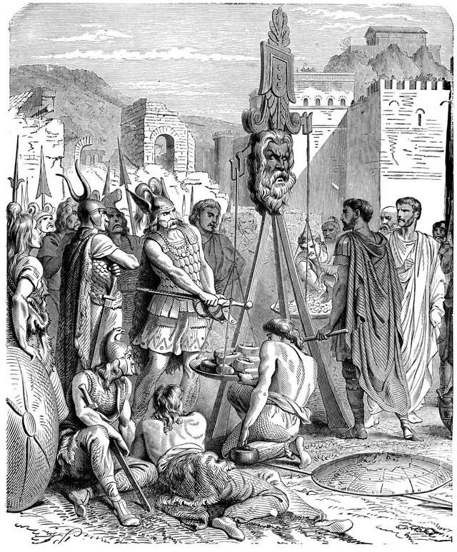 高盧對羅馬的影響-布倫努斯入侵羅馬_e0040579_2225625.jpg