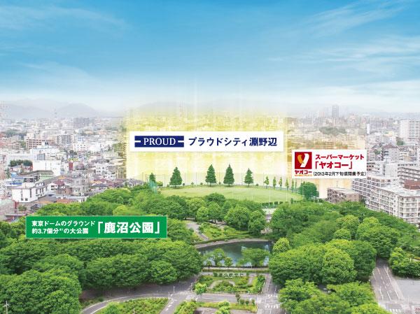 オンワードオークス→ノジマライズ→プらウドシティ_a0163788_21585594.jpg