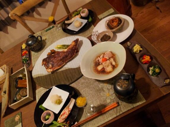 waju kitchenおもてなしコース一例♪_b0252508_107244.jpg