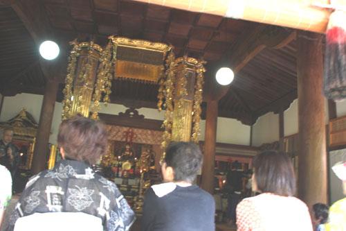 鹿ケ谷 安楽寺 かぼちゃ供養_e0048413_2222749.jpg