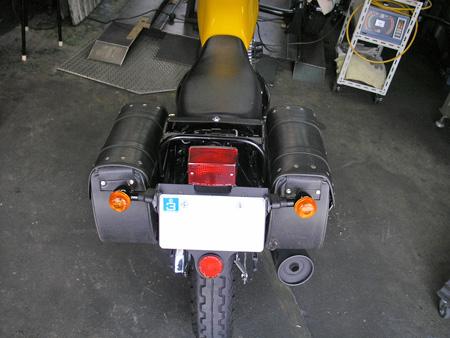 【250ccのバイクにリアキャリアとサイドバッグを取り付けました】_e0218639_040195.jpg