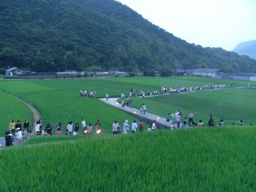 8/4(土)小豆島W.S.後に地元の祭に参加です。_c0003757_754781.jpg