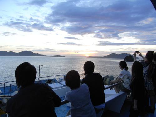 8/4(土)小豆島W.S.後に地元の祭に参加です。_c0003757_76556.jpg