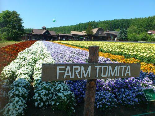 いい旅夢気分、北海道富良野でファーム富田へ_b0106766_209486.jpg