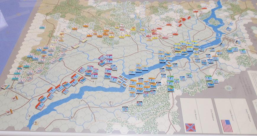 GMT「Across the Rappahannock」より「フレデリックスバーグの戦い」をソロプレイ①_b0162202_18572489.jpg