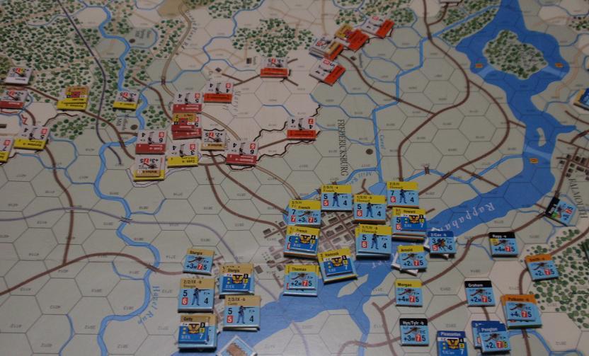 GMT「Across the Rappahannock」より「フレデリックスバーグの戦い」をソロプレイ①_b0162202_18574254.jpg