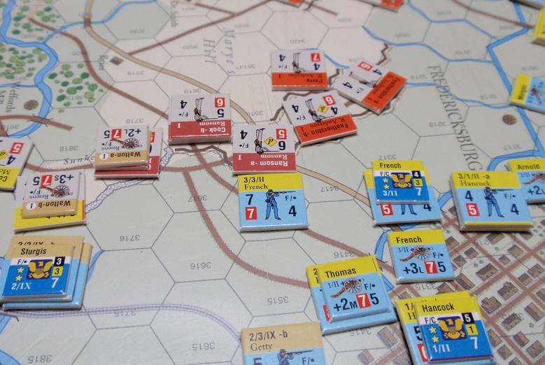 GMT「Across the Rappahannock」より「フレデリックスバーグの戦い」をソロプレイ①_b0162202_18583326.jpg