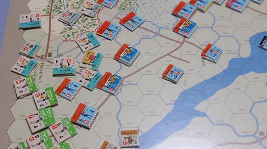GMT「Across the Rappahannock」より「フレデリックスバーグの戦い」をソロプレイ①_b0162202_18585637.jpg