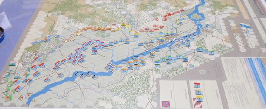 GMT「Across the Rappahannock」より「フレデリックスバーグの戦い」をソロプレイ①_b0162202_1858832.jpg