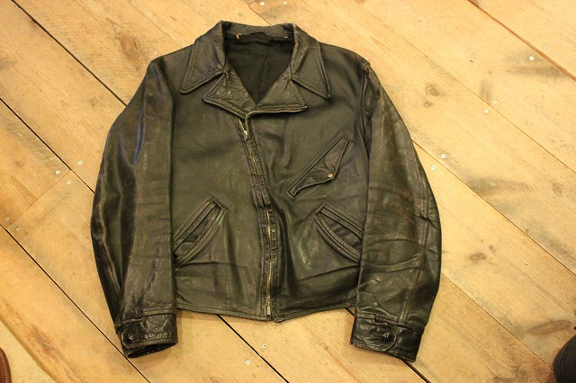 1930\'s HORSE HIDE Leather Jacket_d0121303_19221531.jpg