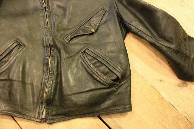 1930\'s HORSE HIDE Leather Jacket_d0121303_19274020.jpg