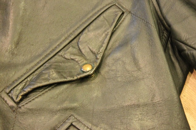 1930\'s HORSE HIDE Leather Jacket_d0121303_19274597.jpg