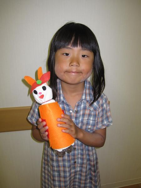 城陽教室 ペットボトル人形作り_f0215199_16223886.jpg
