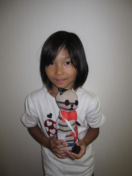城陽教室 ペットボトル人形作り_f0215199_16433649.jpg