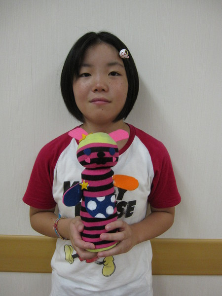 城陽教室 ペットボトル人形作り_f0215199_16514342.jpg