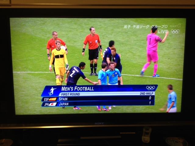 ★ロンドン五輪・日本男子サッカースペインを撃破!★_c0161601_1453999.jpg