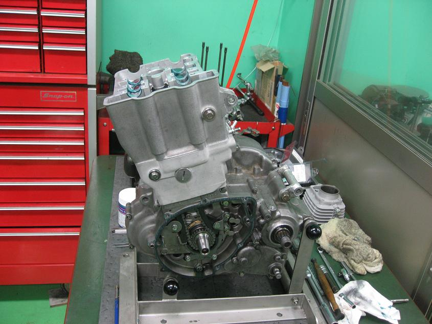KLX650 エンジン!!!_f0231916_21585314.jpg