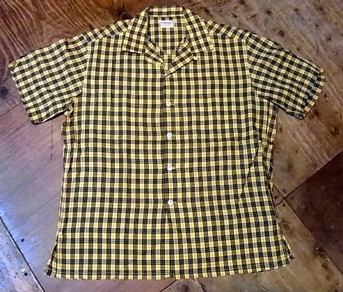 7/28(土)入荷!60'S マクレガー オープンカラーボックスシャツ!_c0144020_1441326.jpg