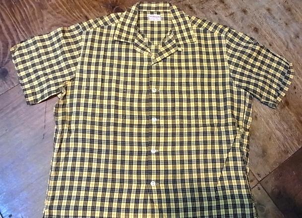 7/28(土)入荷!60'S マクレガー オープンカラーボックスシャツ!_c0144020_14413452.jpg