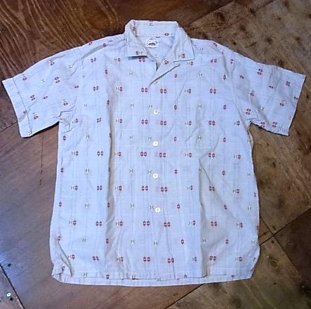 7/28(土)入荷!60'S フルーツ オブ ザ ルーム オープンカラーボックスシャツ!_c0144020_14425945.jpg