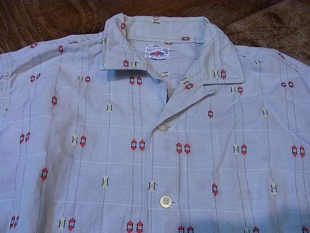 7/28(土)入荷!60'S フルーツ オブ ザ ルーム オープンカラーボックスシャツ!_c0144020_1443299.jpg