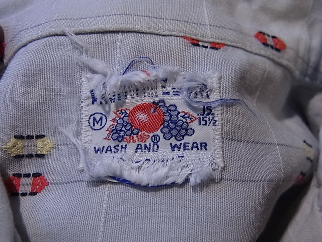 7/28(土)入荷!60'S フルーツ オブ ザ ルーム オープンカラーボックスシャツ!_c0144020_1443767.jpg