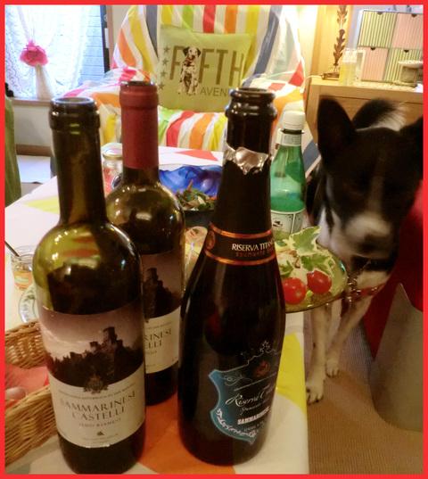 暑気払いワイン会。_e0236072_158235.jpg